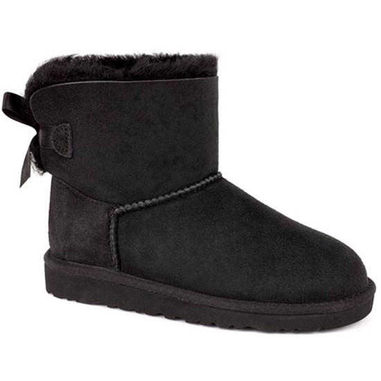 UGG Boots, Bailey Bow, Black