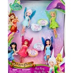 Disney Fairies Dukker, 4-pack