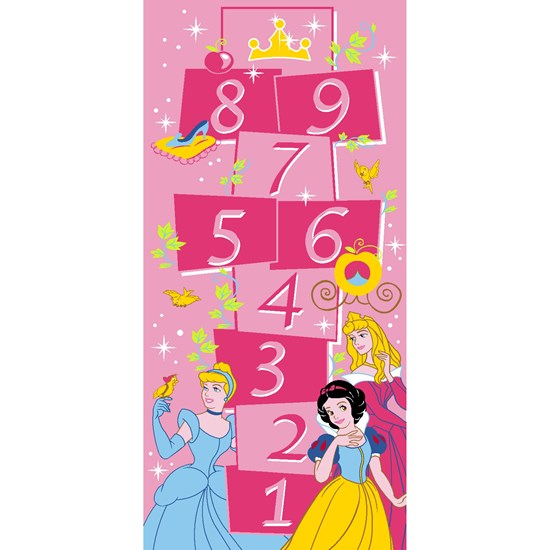 Associated Weaver Disney Princess, Teppe, 95 x 200 cm, Hoppe hage
