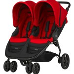 Britax Søskenvogn, B-Agile Double, Flame Red
