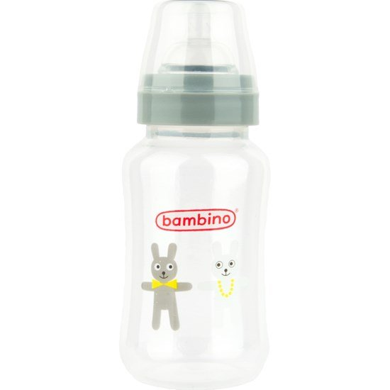 BAMBINO Wide Neck Bottle 330 ml, Grå