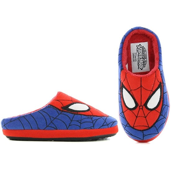 Marvel Spider-Man Disney Spiderman, Tøfler, Blå/Rød