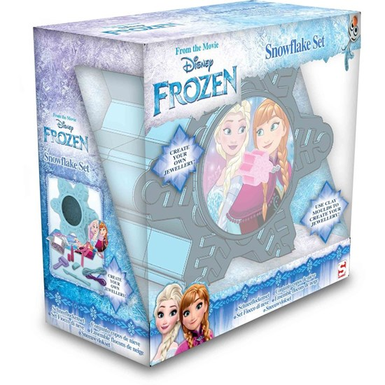Disney Frozen Hobbysett, Snow Flake Jewellery Creation