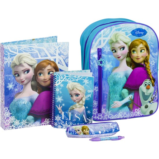 Disney Frozen Filled Backpack Set