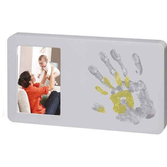 Baby Art Duo Print Paint Frame Pastel