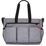 Skip Hop Stelleveske, Duo Double, Signature, Heather Grey