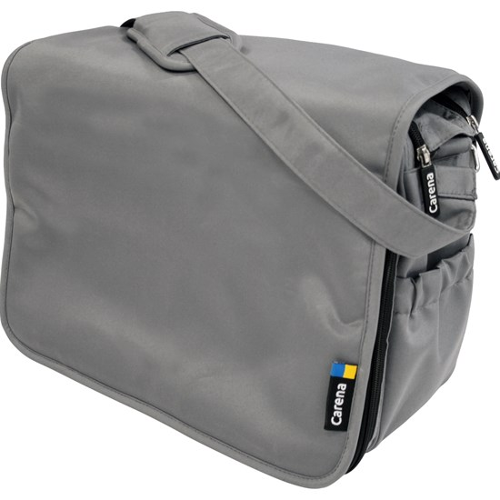 Carena Koster Stelleveske Messenger Bag Grey