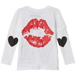 The BRAND Love Kiss T-skjorte Hvit