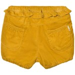 Hust&Claire Shorts med Volang, Curry