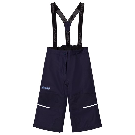 Bergans Skallbukser, Storm, Insulated, Kids, Navy