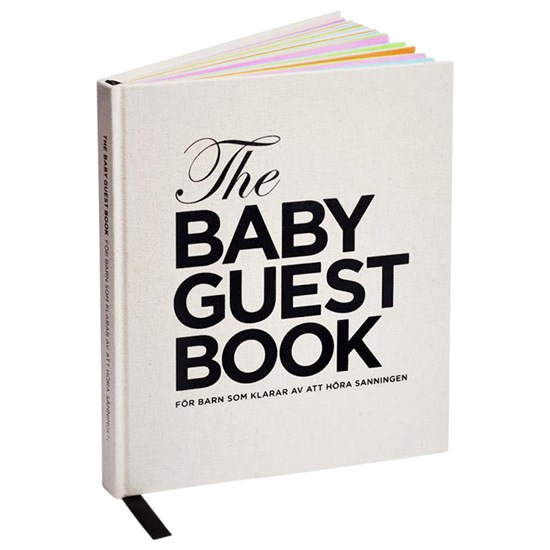 The Tiny Universe The Baby Guest Book Norsk