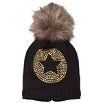 Ticket To Heaven Bobble Hat Knit Lue Svart
