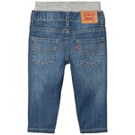 Levis Kids Light Wash Pull Up Jeans