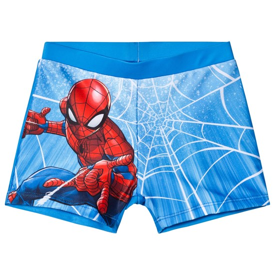 Disney Spiderman Spiderman Badeshorts Blå