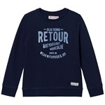 Retour Marino Sweater Indigo Blue