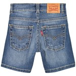 Levis Kids Mid Wash Distressed 501 Jeans Shorts