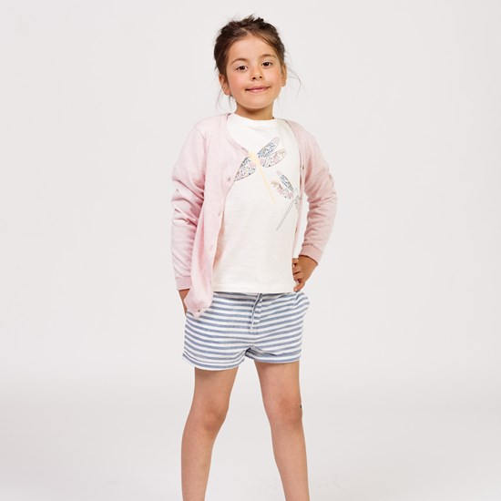 ebbe Kids Frances Shorts Navy Stripes