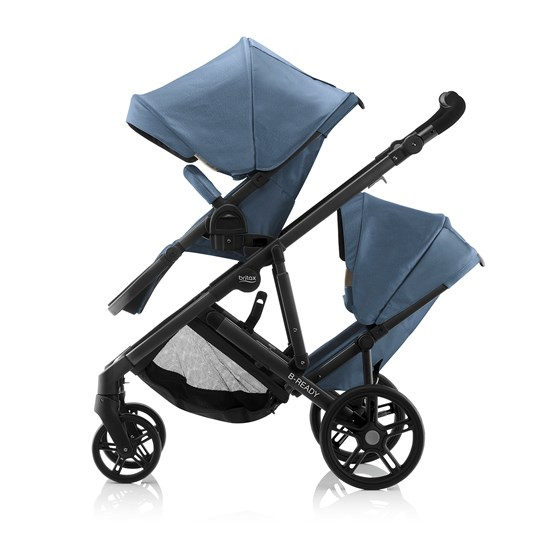 Britax B-Ready Søskensete Blue Denim 2018