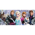 Ravensburger Puslespill, Disney Frozen, Friends, 200 brikker