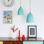 Superliving Mini Dynamic Pendant Matt Aqua