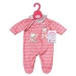Baby Annabell Romper Rosa Stripete
