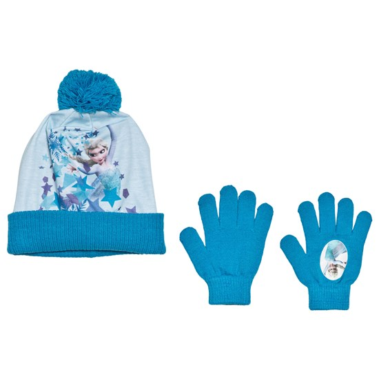 Disney Frozen Disney® Frozen Lue og Vanter Sett Blå