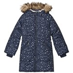 Lands' End Thermoplume® Jakke Midnight Navy Stars