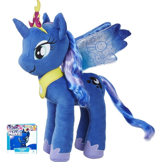 My Little Pony Large Rooted Hair Plush Princess Luna