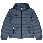 Bergans Navy Down Youth Girl Puffer Jacket