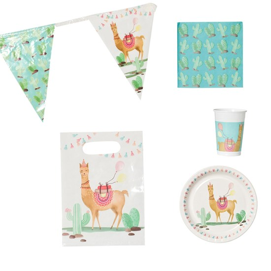 Decorata Party Lama Party Pack