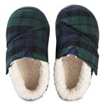 Toms Lurex Tøfler Green Plaid