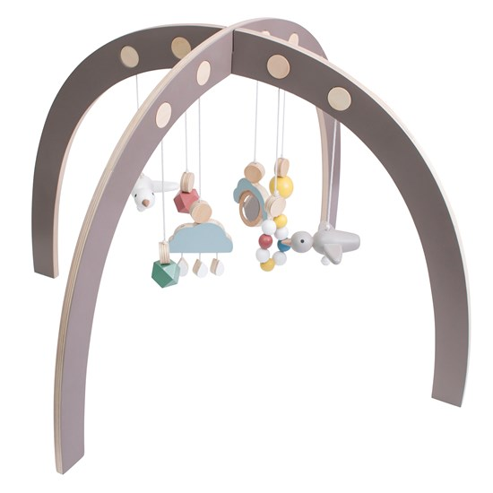sebra Baby Gym Warm Grey