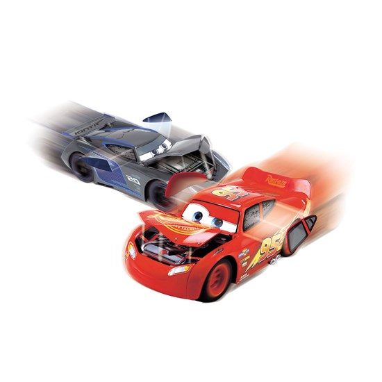Disney Pixar Cars Biler 3 RC Jackson storm crazy crash