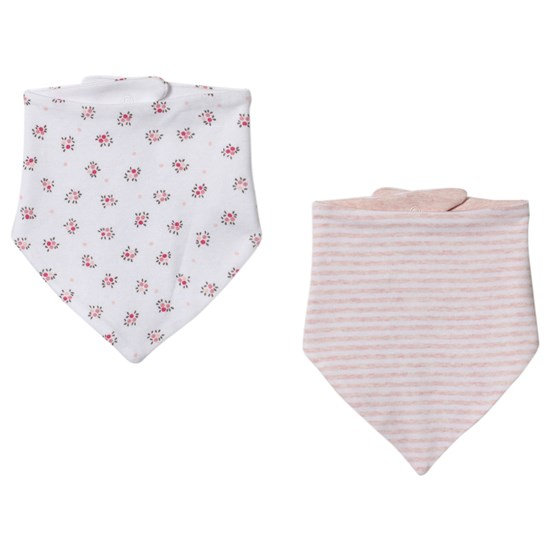 Gap 2Pk Bandanna Bibs Optic White