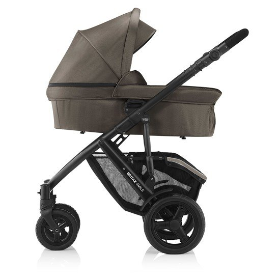 Britax Hard Carrycot  Kahki Denim