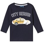 Max Collection Long Sleeve Tee Navy City Heroes