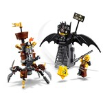 LEGO The Movie 70836 LEGO® Movie 2 Metallskjegget og Batman™ klar for kamp