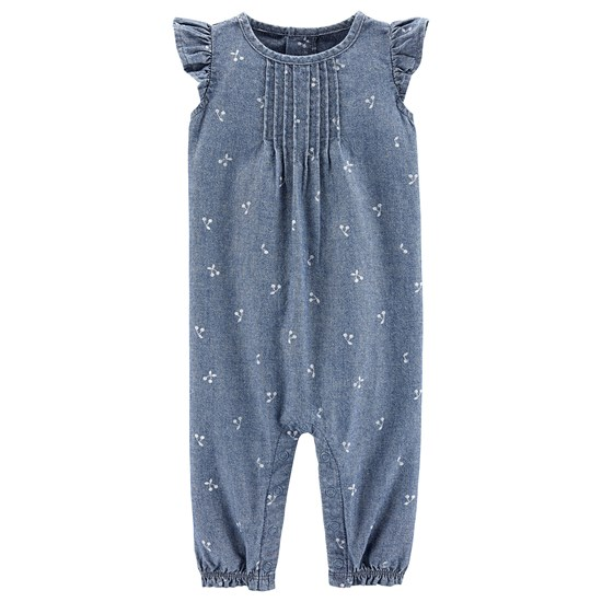 Carter's Girl 1 Pc 1Pc Chambray