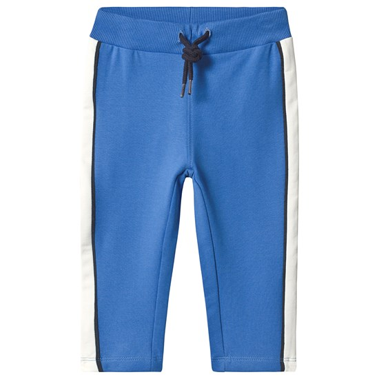 Name It Bamic Swe Pant Unb Strong Blue