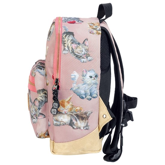 Pick & Pack Backpack Kittens Pink