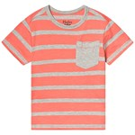 Hatley Coral Stripes Graphic Tee