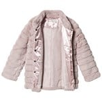 Name It Faux Fur Jacket Misty Rose