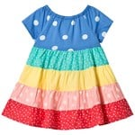 Frugi Multi Stripe Dorothy Twirly Dress