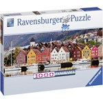 Ravensburger Puzzle, Port in Norway, 1000 pieces