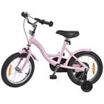 STOY Bicycle 14 Classic Frame Light Pink