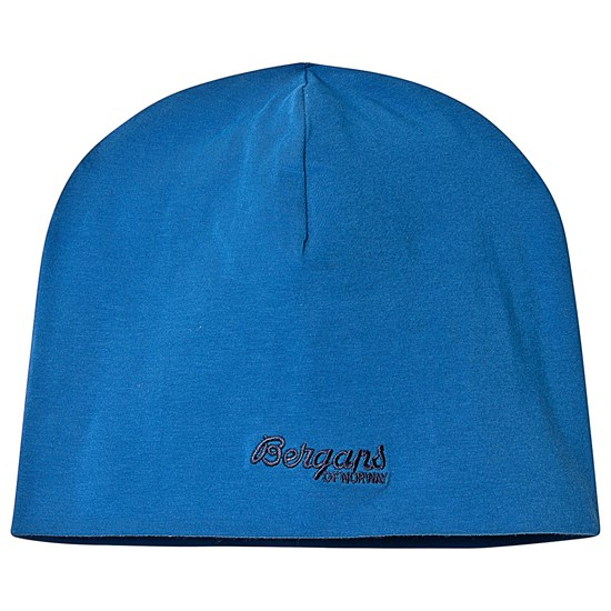 Bergans Youth Cotton Beanie Classic Blue