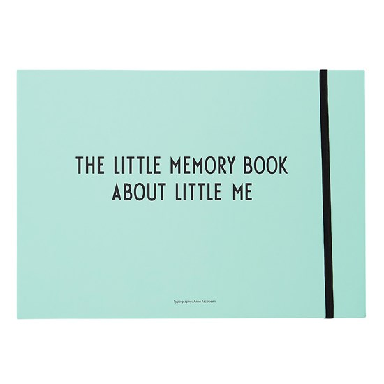 Design Letters The Little Memory Book blue