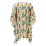 Snapper Rock Pink Tropical Kaftan
