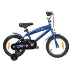 STOY Bicycle 14 Cruiser Frame Dark Blue