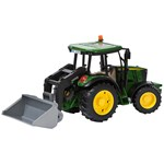 Bruder John Deere M5115 with Front Loader and Trailer